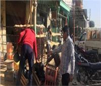 رفع 432 حالة إشغال ومصادرة 95 شيشةفي 4 مراكز بالبحيرة