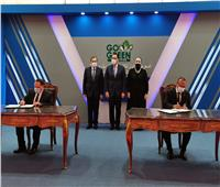 رئيس الوزراء يشهد توقيع مذكرة لدعم تحويل السيارات للعمل بالوقود المزدوج | صور