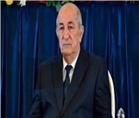 الرئيس الجزائري يصدر مرسومًا بحل البرلمان
