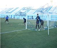بمدرب «أون لاين».. المقاولون يستكمل تدريباته في تونس.. صور