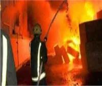 إصابة 8 عمال فى حريق هائل بمخبز بلدى بالشرقية
