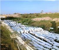 إزالة 1023 حالة تعدي على الأراضي الزراعية بالشرقية