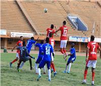 انطلاق الشوط الثاني من مباراة الأهلي وسونيديب