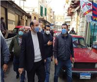محافظ الإسكندرية يوجه بتكثيف الحملات اليومية على مخالفي الإجراءات الاحترازية