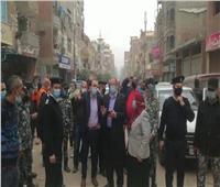 نائب محافظ الإسماعيلية يقود حملة لإزالة الإشغالات والباعة الجائلين