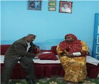 «الأخبار المسائي» مع ضحايا السلعوة.. «أمارة» الشجاعة كسرت أنفها لإنقاذ طفلها