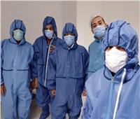 استبدال مفصل الحوض لـ«مسنة» مصابة بفيروس كورونا في مستشفى بئر العبد