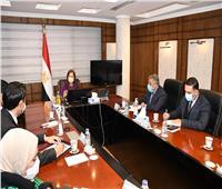 وزيرة التخطيط تستقبل السفير الكوري بالقاهرة