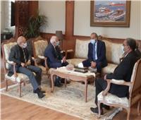 محافظ بورسعيد ووزير التموين يتفقدان المنطقة الصناعية بالمحافظة