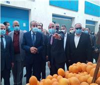 وزير التموين يفتتح أول سوق لوجستي متطور ببور سعيد| صور