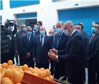وزير التموين يرفض بدء جولته ببورسعيد قبل ارتداء الجميع الكمامة