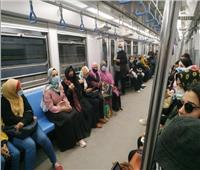 شرطة المترو تواصل حملاتها لضبط مخالفي قرار «الكمامة»