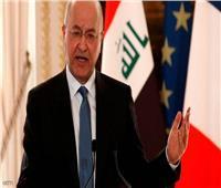 الرئيس العراقي: يجب ضبط السلاح المنفلت لبناء جيش قوي