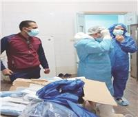 «عمرها 60 عاماً».. جراحة ناجحة لمريضة «كورونا» بسيناء