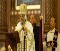 البابا تواضروس يشكر المهنئين بعيدالميلاد