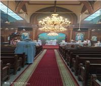 بدون جمهور.. إقامة قداس عيد الميلاد بكنيسة العذراء ببني سويف