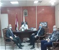 إنشاء سوق حضاري وممشى على النيل بمركز طما