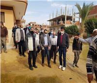 تشكيل لجنة هندسية لبحث أسباب تكدس المياة بقرية فنارة بالإسماعيلية