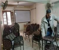 غلق «سنتر» للدروس الخصوصية في حي الهرم
