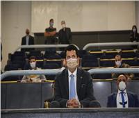 وزير الرياضة يشهدودية «مصر واليابان» استعدادا لمونديال اليد
