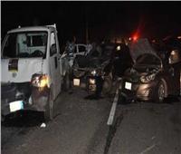 إصابة 6 أشخاص في حادث سيارة ربع نقل بالمنيا