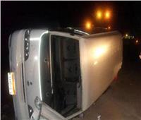 إصابة 5 أشخاص في انقلاب ميكروباص بـ«المنيا»