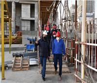 «الإسكان» تتابع سير العمل بمشروعات العاصمة الإدارية