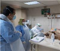 زيارة تفقدية لمدير عام الطب العلاجي بمستشفى المنشاوي بالغربية| صور