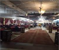 فض حفل زفاف وغلق 149 محل تجاري في بني سويف
