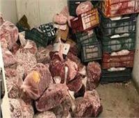 أمن القليوبية يداهم مخازن بير السلم ويضبط أطنان من اللحوم الفاسدة