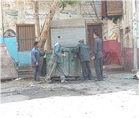 حملة نظافة مكبرة بشوارع إسنا