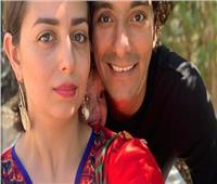 هبة مجدي تشارك جمهورها الاحتفال بعيد زواجها