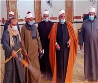 غلق المساجد المجاورة للمستشفيات بالمنيا لمواجهة كورونا