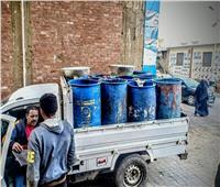 حي العمرانية يضبط سيارة نقل تجمع مخلفات بدون تصريح.. صور