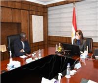 وزيرة التخطيط للسفير السنغالي: خلق شراكة تشمل الصناديق السيادية بأفريقيا