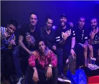 أحمد الفيشاوي يفتح ألبوم ذكرياته مع فريق «الهيب هوب»