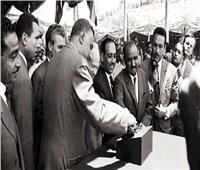 اليوم | 61 عاماً على وضع حجر الأساس لبناء السد العالي