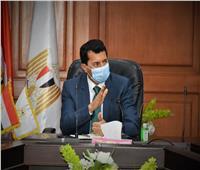 وزير الرياضة يتفقد الأهلي والزمالك لمتابعة إجراءات مواجهة كورونا