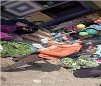 شباب يطلقون مبادرة لتوزيع الكمامات على الباعة في بني سويف