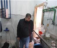 ضبط وتشميع مصنع غير مرخص للكمامات ومستحضرات التجميل بالإسكندرية