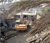 محافظة القاهرة: هدم 4عقارات من عشوائيات كوبري السيدة عائشة