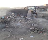 بدء مشروع النظافة التابع للوحدة المحلية لمدينة أسوان