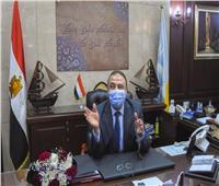 محافظ الإسكندرية يباشر مهام عمله عقب تعافيه من كورونا