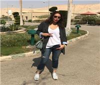 «بنطلون جينز ونظارة شمسية» ..أحدث إطلالة لـ«لقاء الخميسي»