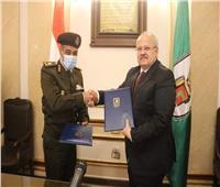 القوات المسلحة توقع بروتوكول تعاون مع جامعة القاهرة لتطوير البحث العلمي