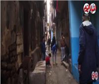 جزيرة ميت عقبة.. بقعة سوداء للمخدرات والعشوائية في الجيزة| فيديو