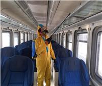 «السكة الحديد» تعلن عن حملة تعقيم جديدة لقطاراتها