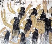 معلومات عن اللوحة الجدارية «النائحات» التي يبلغ عمرها 3370 عامًا