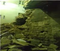 انهيار عقار من ٣ طوابق بالمعصرة دون اصابات.. صور