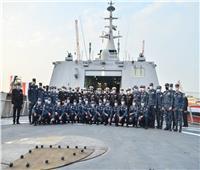 القوات البحرية تتسلم الفرقاطة الشبحية «بورسعيد» من طراز «جوويند»..صور